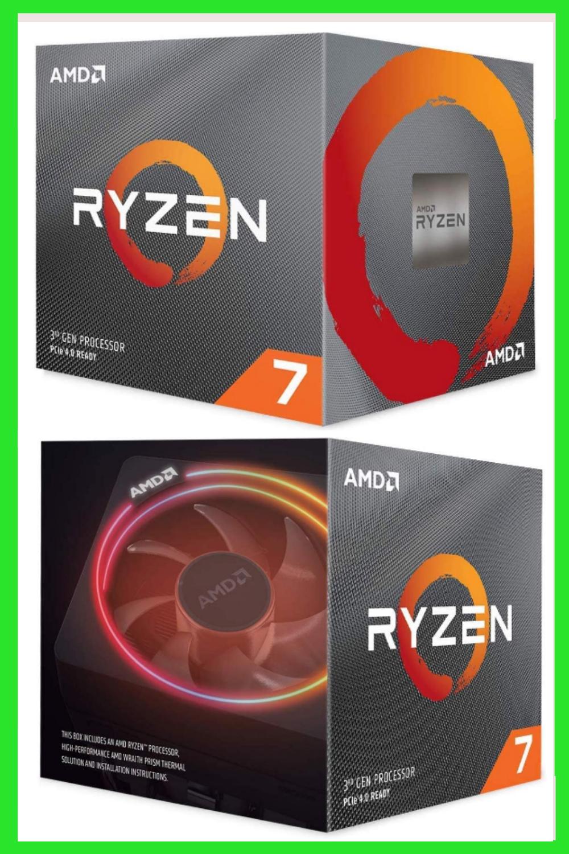 Amd Ryzen 7 3700x 8 Core 16 Thread Unlocked Desktop Processor With Wraith Prism Led Cooler Custom Computer Case Computer Gifts Custom Computer