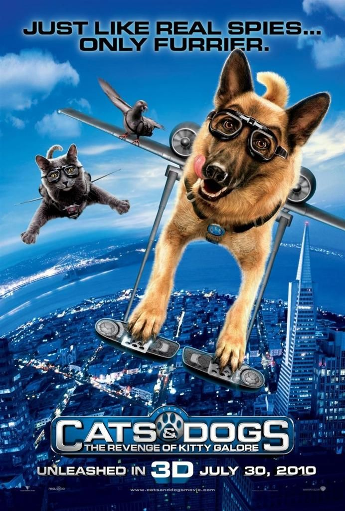 Cats Dogs The Revenge Of Kitty Galore Dog Cat Dog Movies Dogs