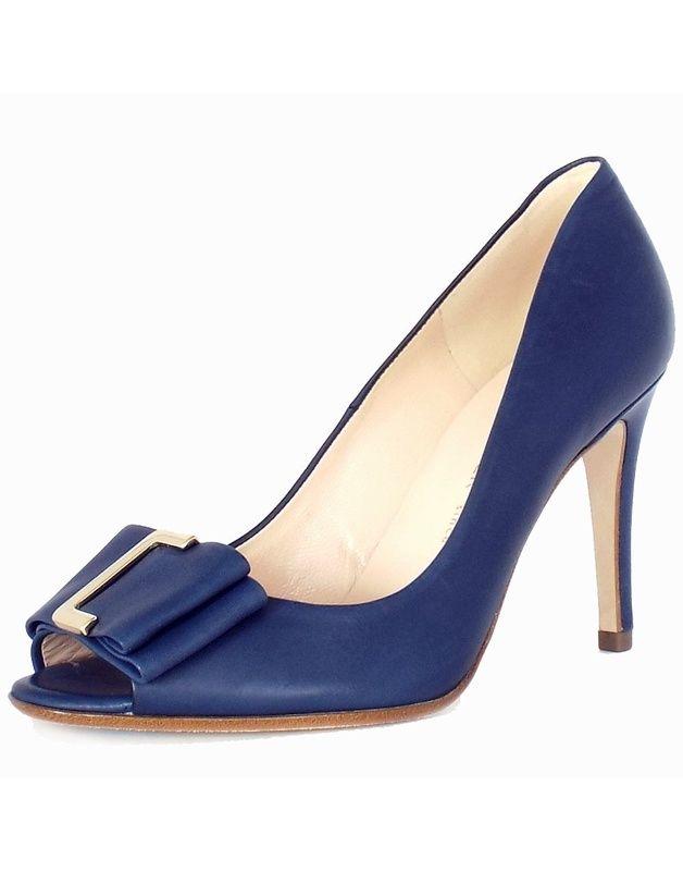 a63ba17d6c69 Haut Talon Escarpins Peter Kaiser Akira Femmes En Opale Bleue  Amazon.fr   Chaussures