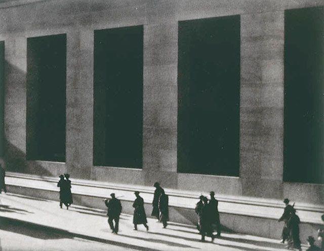 Paul Strand - New York (Wall Street)