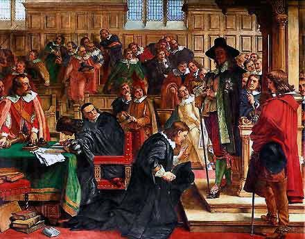charles i of england relationship with parliament