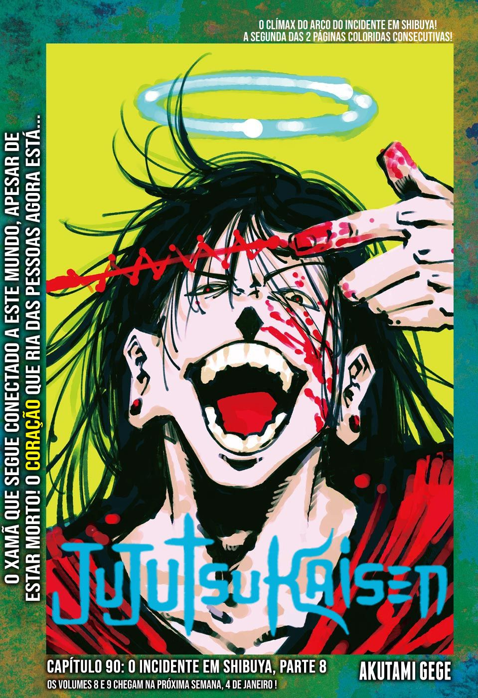 Jujutsu Kaisen Geto Jujutsu Manga Covers Anime Wall Art