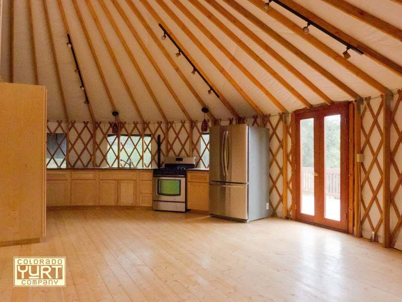 Kitchen From Our Friends At Yurts Of Hawaii Yurt Living