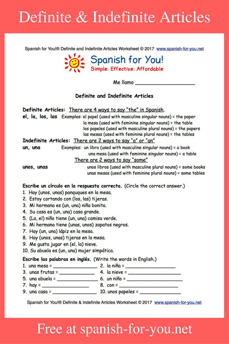 free spanish worksheets spanish learning spanish worksheets learning spanish learn spanish. Black Bedroom Furniture Sets. Home Design Ideas