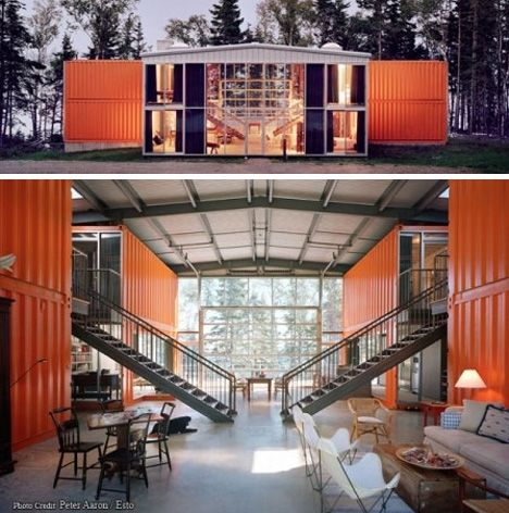 Adam Kalkin is part artist, part architect. His 12 Container Home ...
