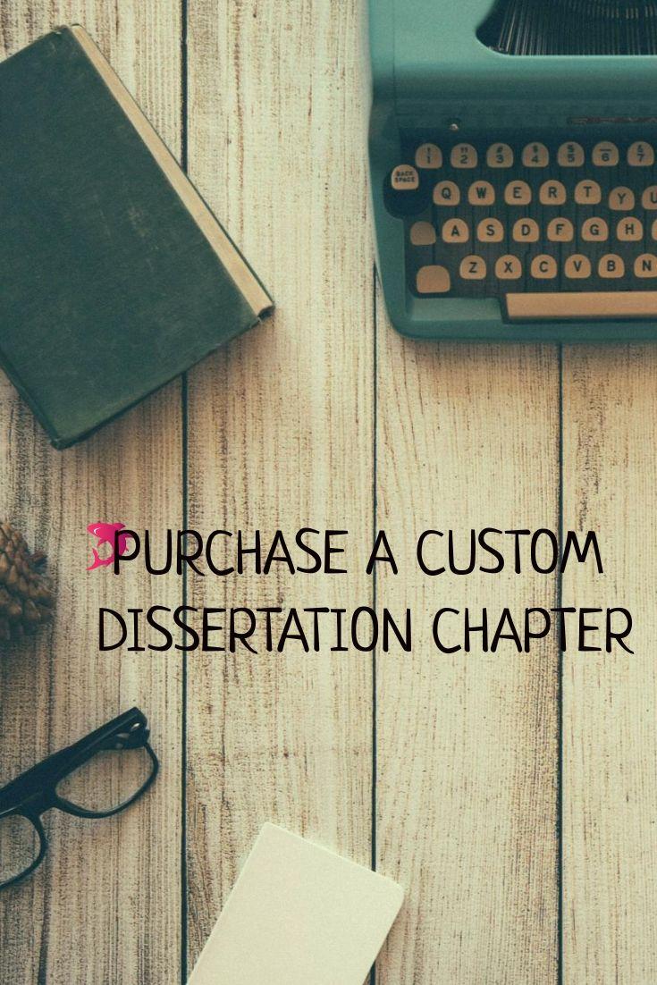 Buy custom dissertation