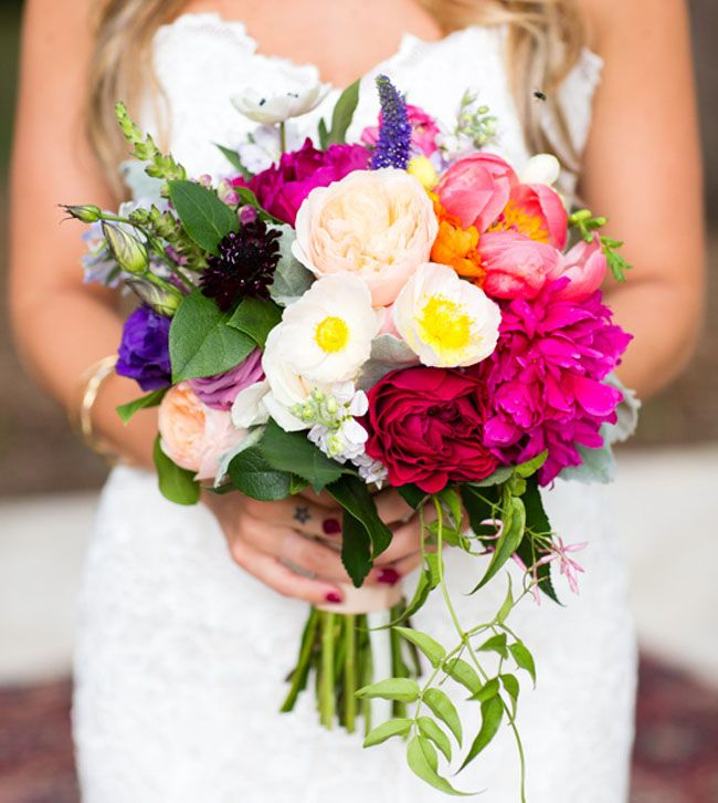 Wedding Flowers In May: Boho Summer Wedding In Austin: Katie + Jonathan