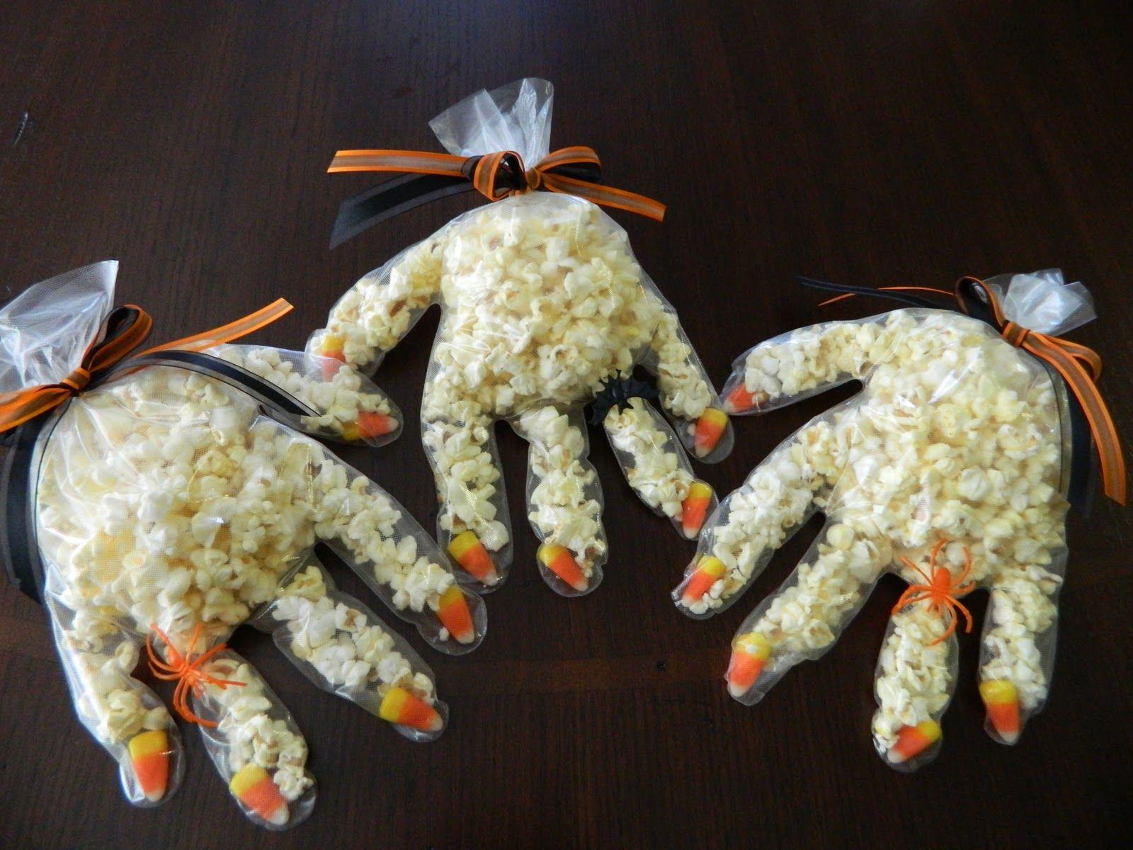popcorn handen