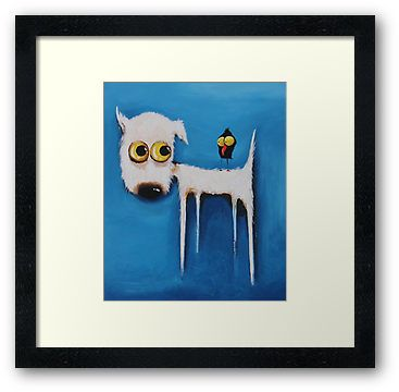 Adorable prints for kids rooms and they come in a variety of sizes.