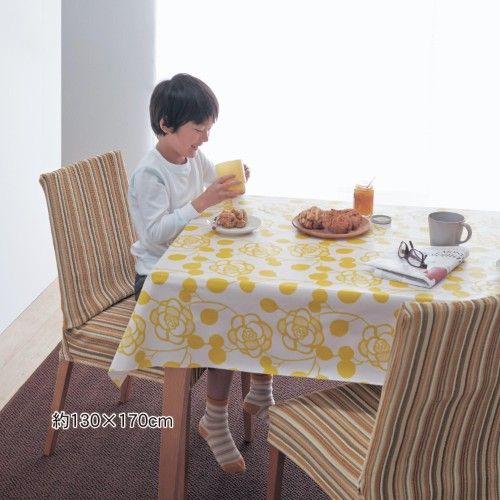 ラミネート加工のテーブルクロス