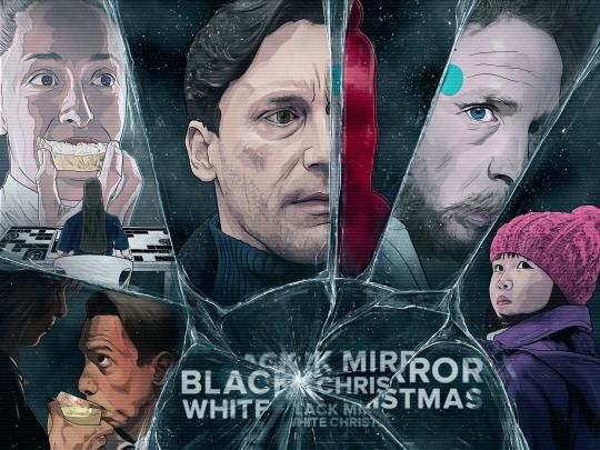 White Christmas Black Mirror Poster.Black Mirror White Christmas Tv Shows Black Mirror Show