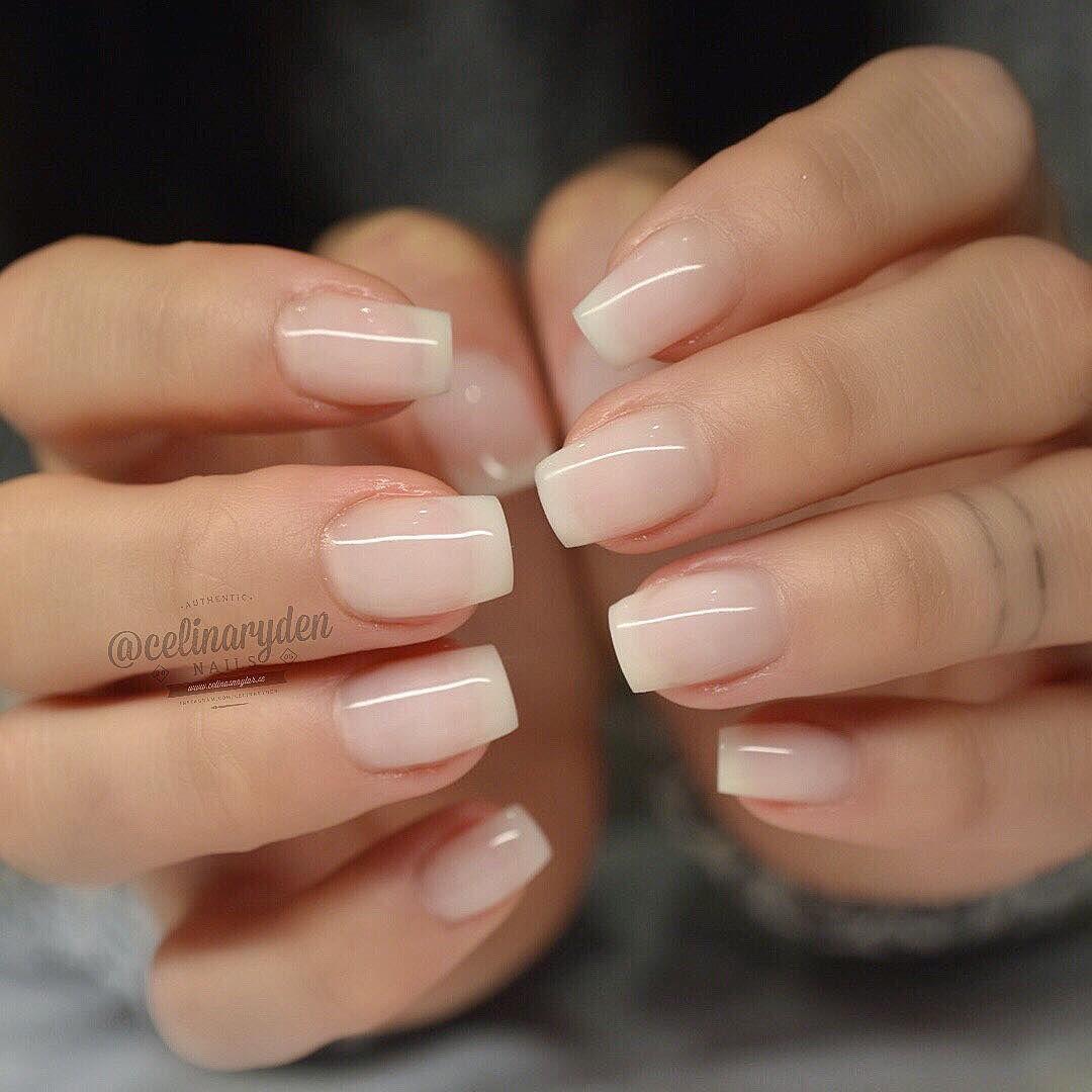 Extensions Using Natural Fiber And Soft Pink Light Elegance Hard Gels Used Light Elegance Ambassad Hard Gel Nails Natural Gel Nails Natural Acrylic Nails