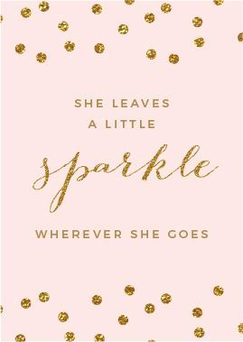 She Leave A Little Sparkle Wherever She Goes Sparkle Alwaysshine Glitter Sparkle Inspiration Birthday Quotes Birthday Wishes Happy Birthday Mom