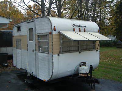 1972 Tag A Long 16ft Vintage Travel Trailers Camper Vintage Camper