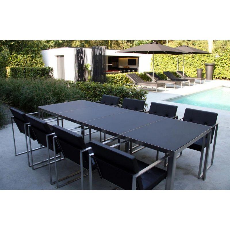 Gartenstuhl Cima Dining Von Fueradentro Armlehnstuhl Moderne Gartenmobel Gartenstuhle