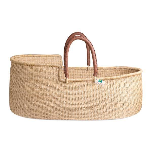 Unique Fairtrade by Design Dua Handmade Organic Baby Changing Basket