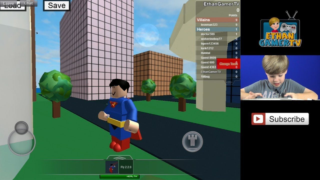 Playing Roblox Superhero City Iii Ipad Ios Kid Gaming