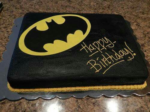 Batman Birthday cake Bday ideas Pinterest