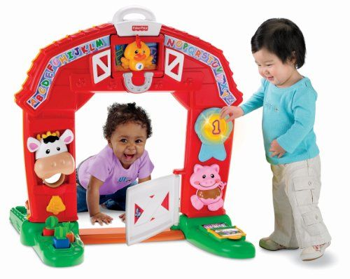 We Got The Fisher-Price Laugh & Learn Barn! It's So Much