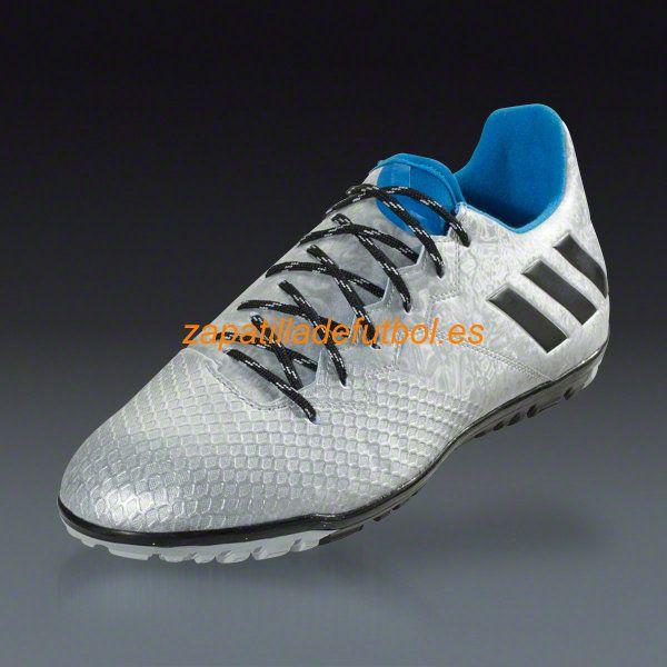 new arrival fa90e 0bf2f ... comprar zapatillas de futbol sala adidas messi 15.3 tf turf la plata  metalica negro azul choque