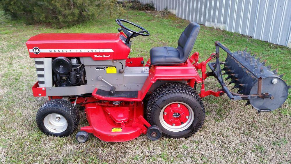 Massey Ferguson Mf 14 Garden Tractor Masseyferguson Garden