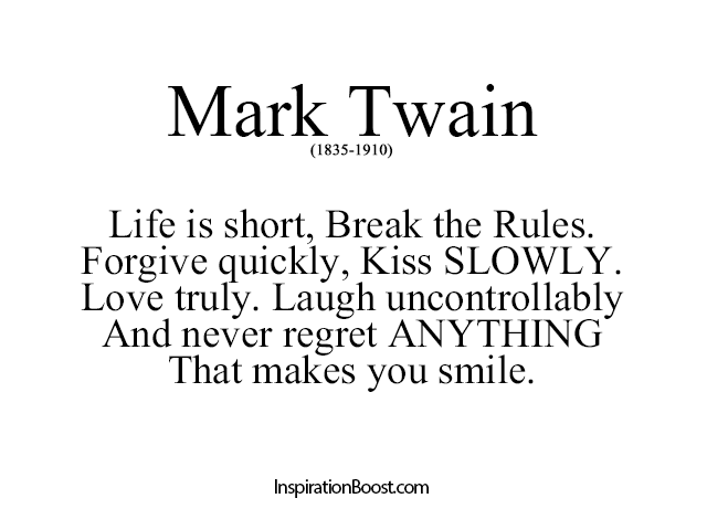 Mark Twain Quotes On Life. QuotesGram | Inspiration & Motivation ...