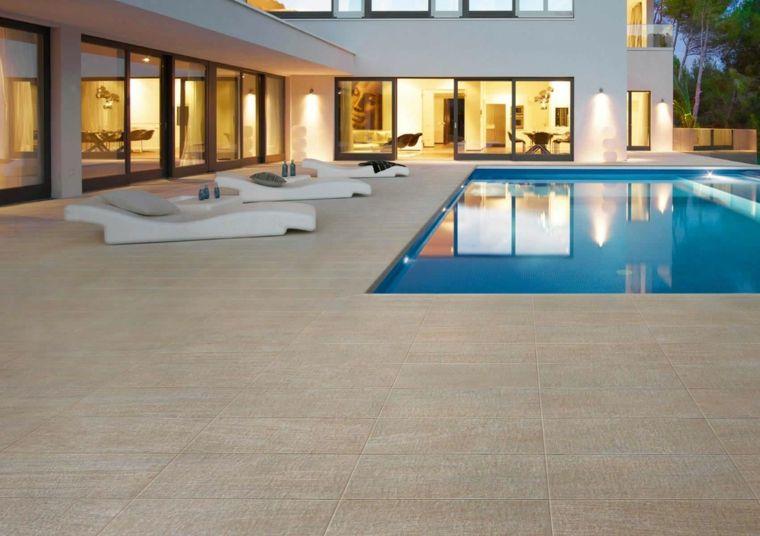 Carrelage extérieur 50 idées pour votre patio ou terrasse - carrelage terrasse exterieur imitation bois