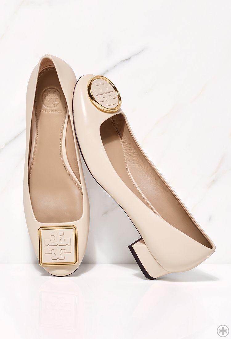 New Women's Designer Shoes. Tory Burch Twiggie Mismatched Pump