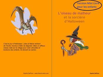 Halloween A French Story L Oiseau Et La Sorciere