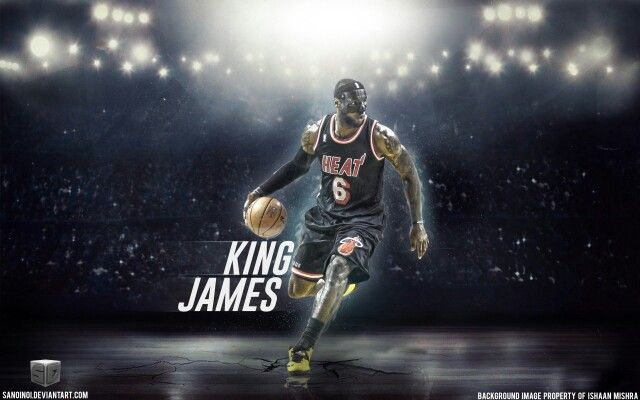 Nba Miami Heat Basketball Wallpaper Lebron James Lebron James Wallpapers Lebron James New York Knicks