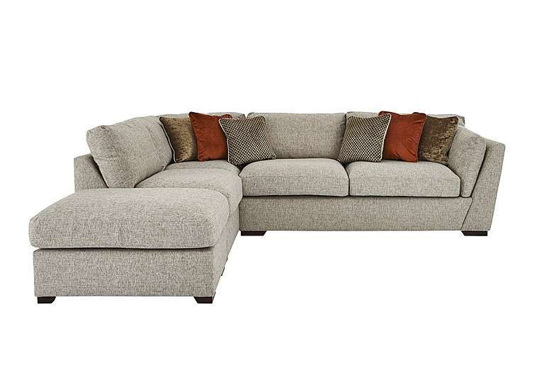 Bailey Corner Chaise Sofa With Footstool With Images Leather Corner Sofa Leather Corner Sofa Living Room Corner Sofa Living Room