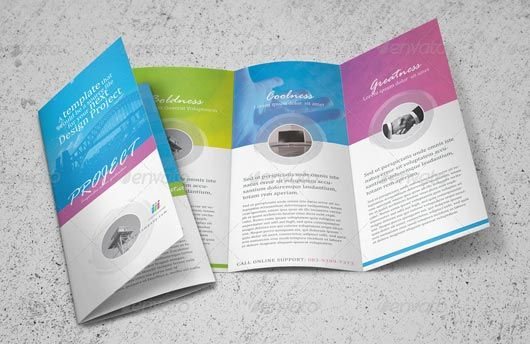 make a free brochure online and print