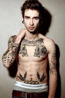Model tattoos tumblr