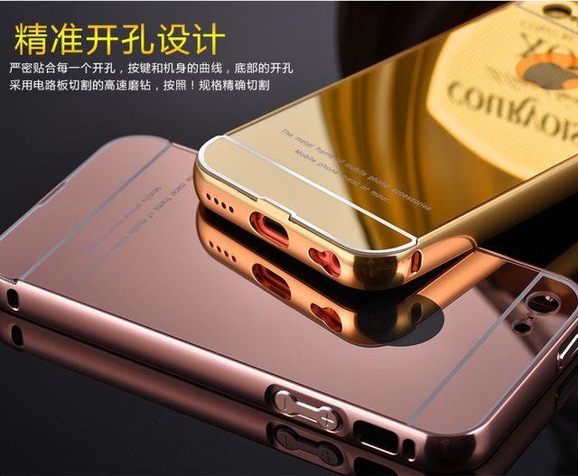 Pour Apple iPhone 5C iphone5C De Luxe Armure Or Cadre En Aluminium ...