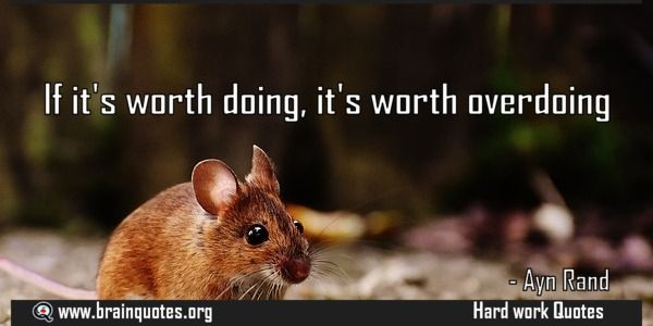 If It S Worth Doing It S Worth Overdoing Good Life Quotes