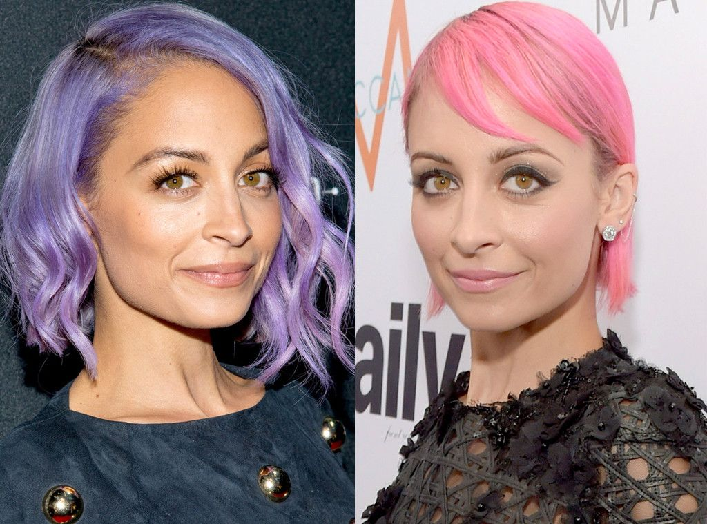 Nicole Richie From Celebrities Changing Hair Color Hair Color