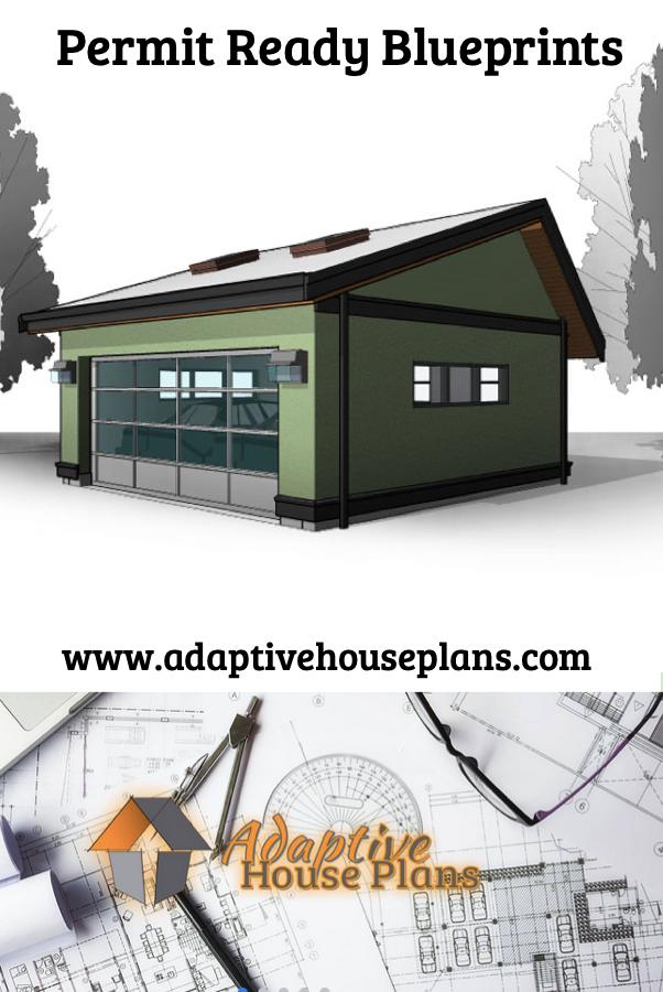 1 Car 12 Wide Extra Deep Garage Plans 360 1 12 X 30 Garage Plans Garage Design Garage Plans Free