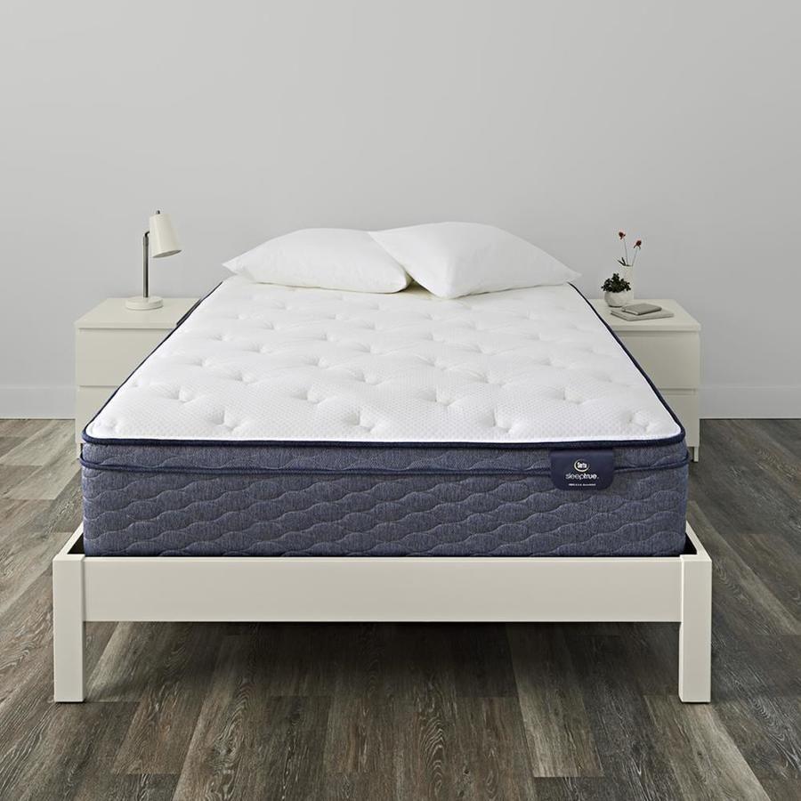 Serta Sleeptrue Alverson Ii Eurotop Plush 13 In Soft Mattress