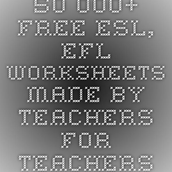 isl collective 50 000 free esl efl worksheets made by teachers for teachers tefl useful. Black Bedroom Furniture Sets. Home Design Ideas