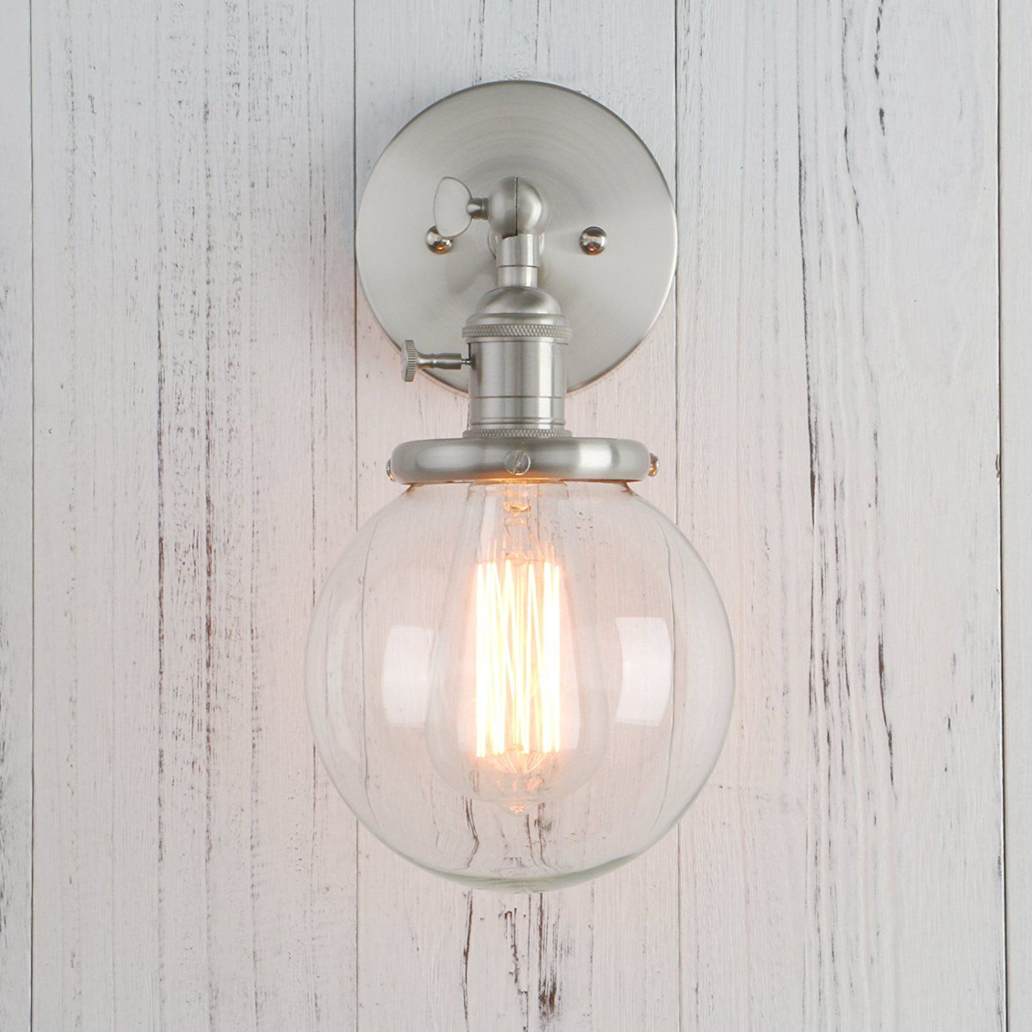 Amazon permo vintage industrial wall sconce lighting fixture amazon permo vintage industrial wall sconce lighting fixture with mini 59 round aloadofball Image collections