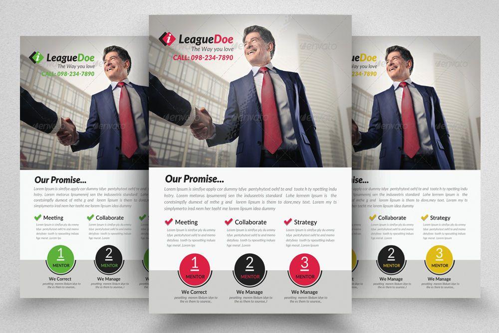 Medical insurance flyer by designhub