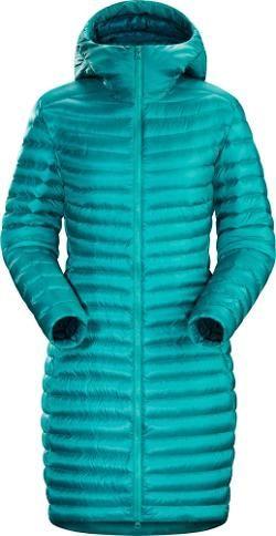 Arc teryx Women s Nuri Insulated Coat Niagara XS  37c41e93a
