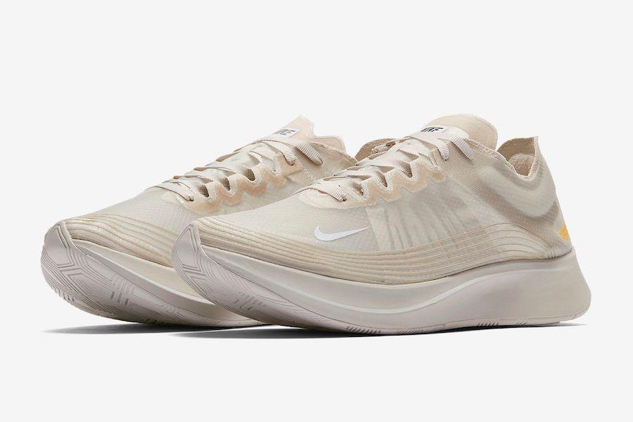 ad3cff309b713 Nike Zoom Fly SP 全新配色設計「Light Bone」