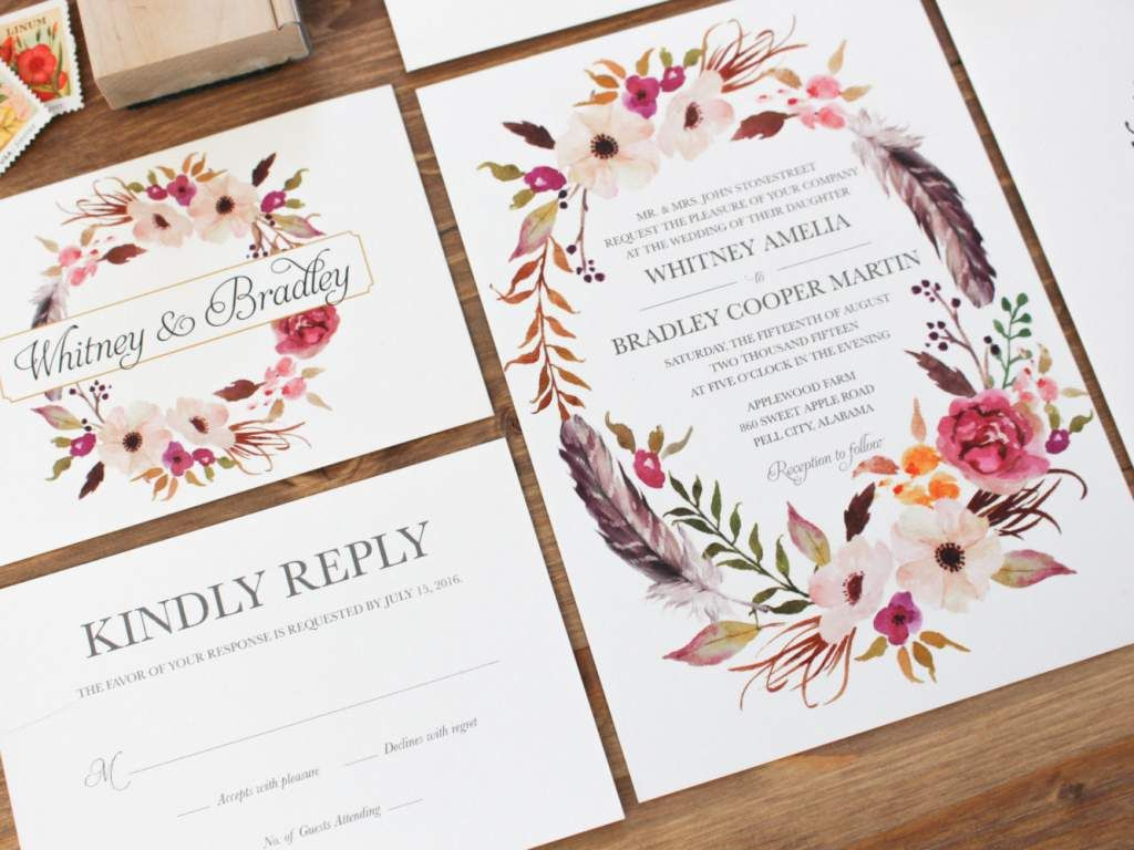 Wedding Invitations Upload Your Own Design   One day - ideas ...