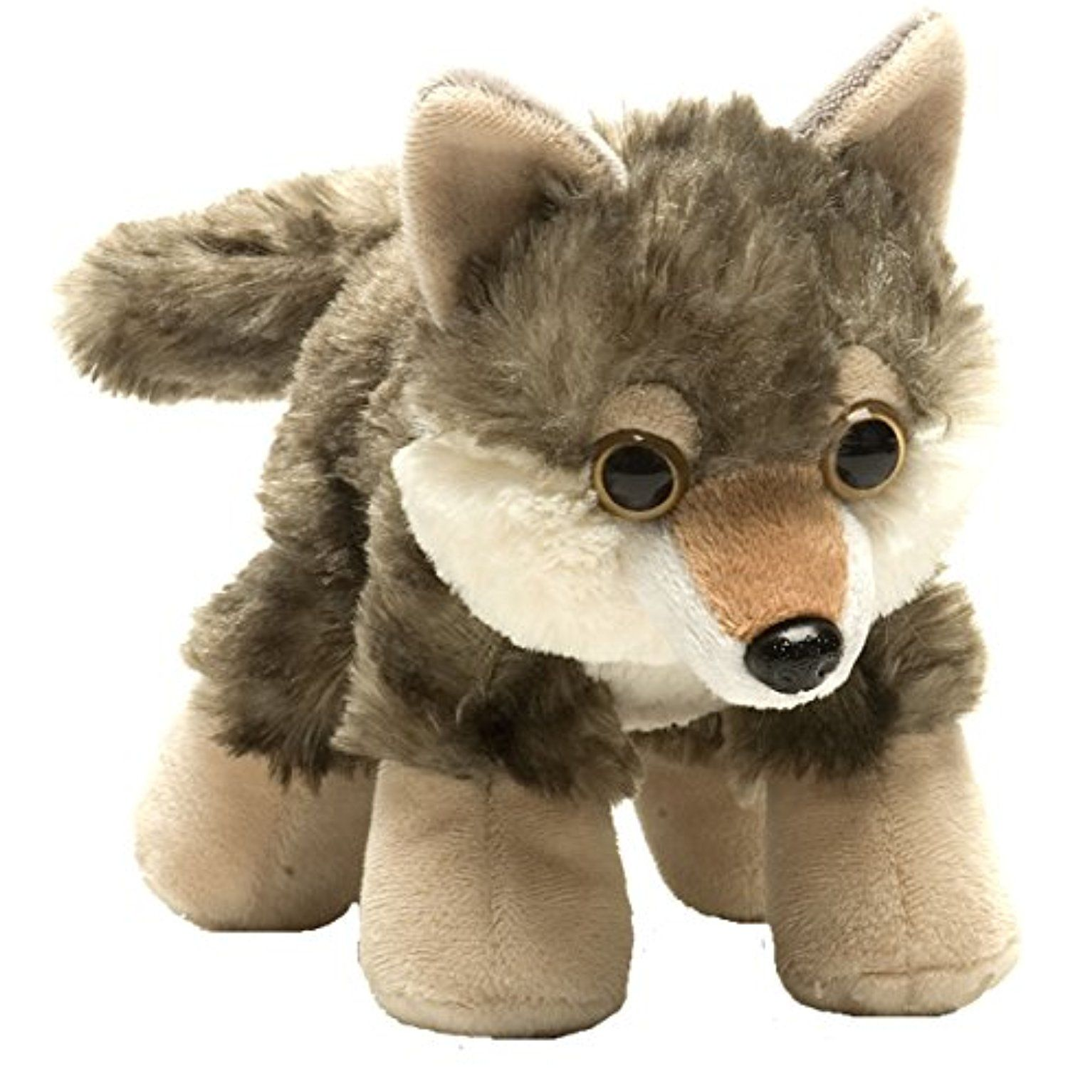 Wild Republic Hug Ems Wolf Plush Toy Find out more