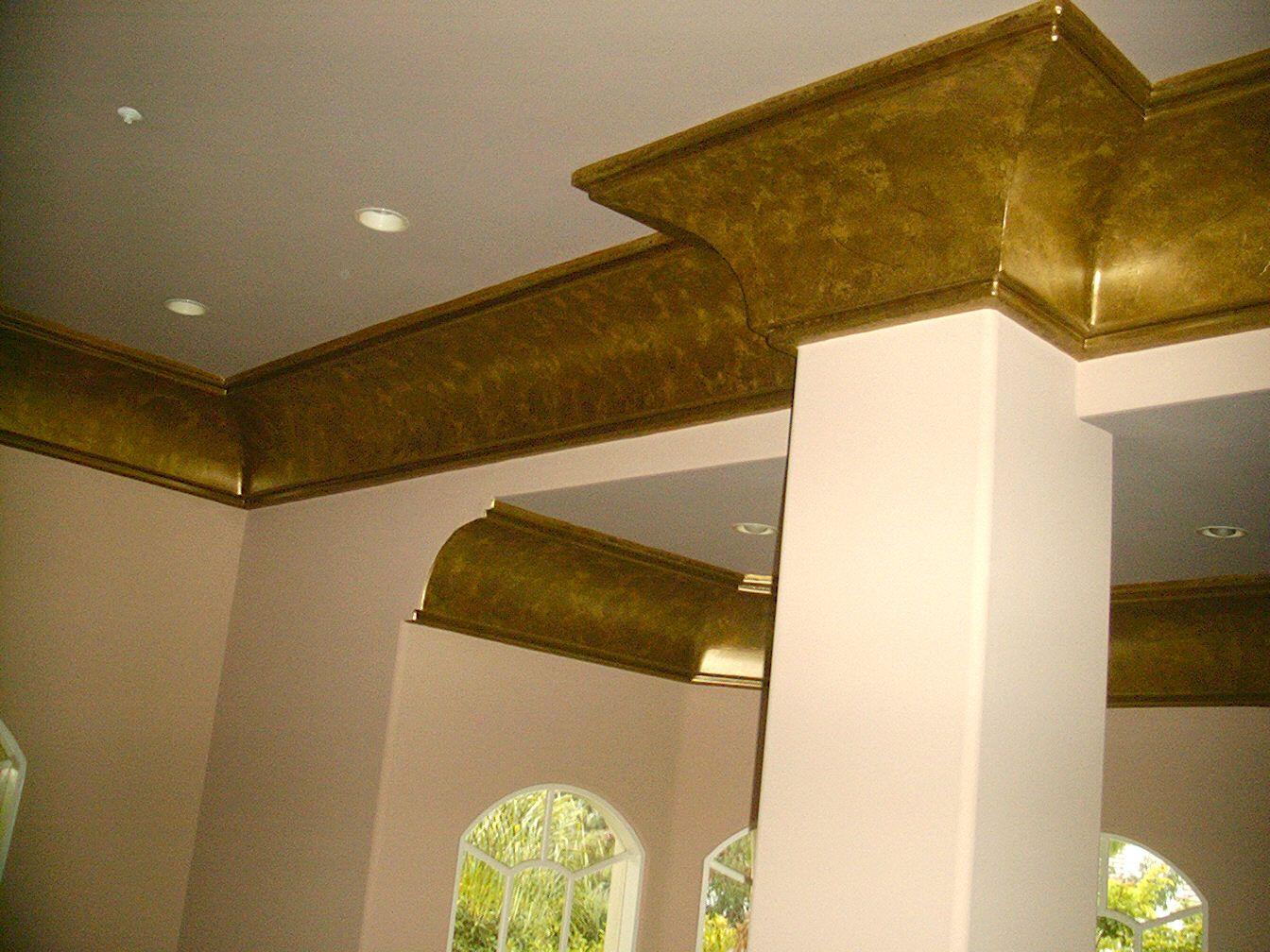 Decorative crown molding ideas foam crown molding was - Crown exterior wood paint colours ...