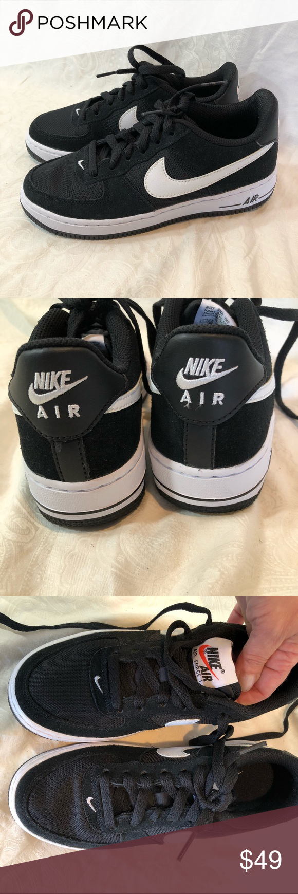Boy's Air Force 1 low basketball sneakers 3.5Y Sneakers