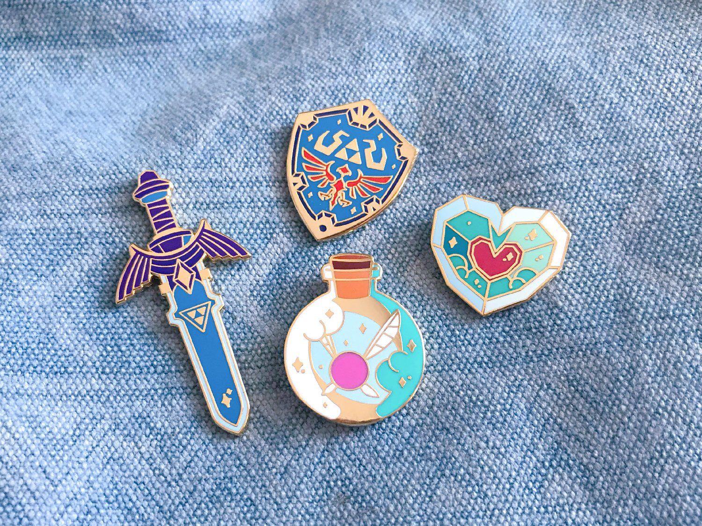 8 1 inch Legend of Zelda pinback badges buttons