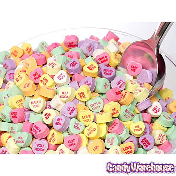 Brach's Small Conversation Hearts Candy: 16-Ounce Bag