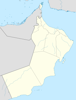Muscat Oman Is Located In Oman Oman Location Map Muscat